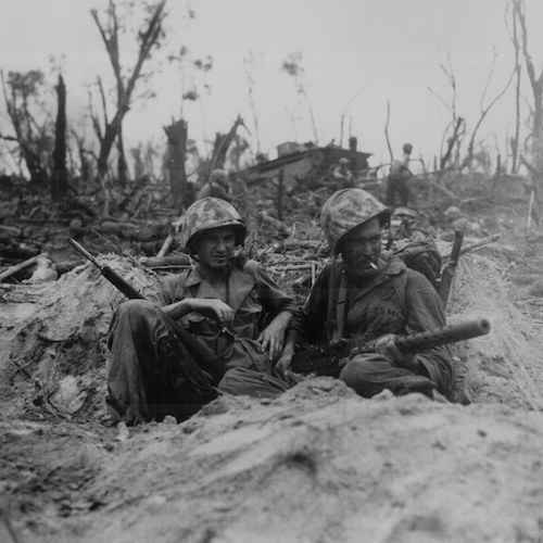 Battle of Peleliu 75th Anniversary Commemoration at the WWII Memorial image