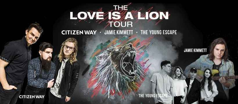 """New Hope Church Presents """"Love is a Lion Fall Tour"""" image"""