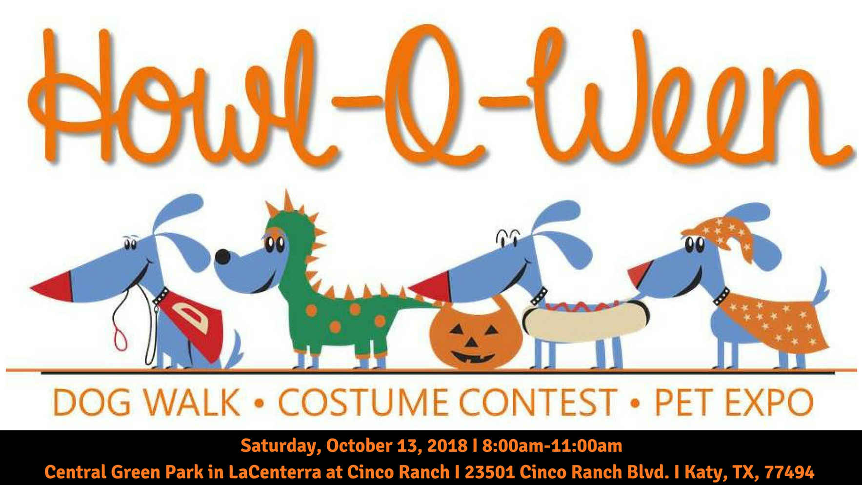 2019 Howl-o-Ween Dog Walk, Costume Contest & Pet Expo image