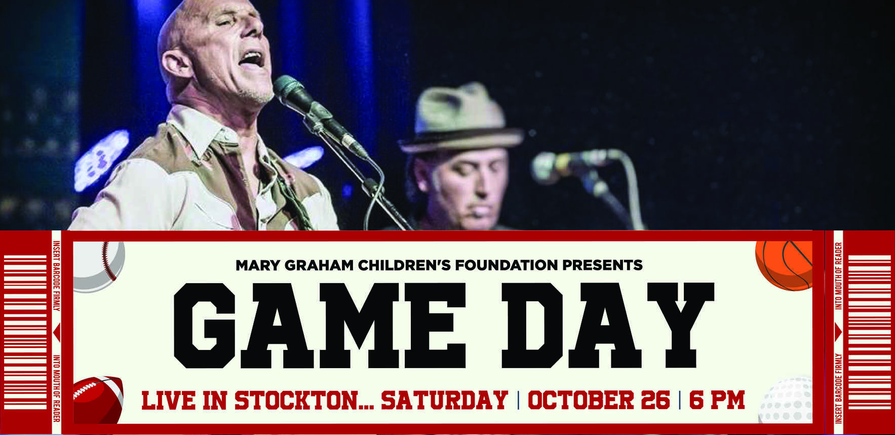 Game Day – Live in Stockton! image
