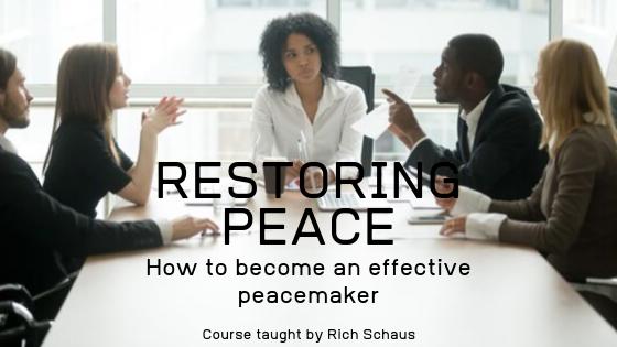 Restoring Peace image