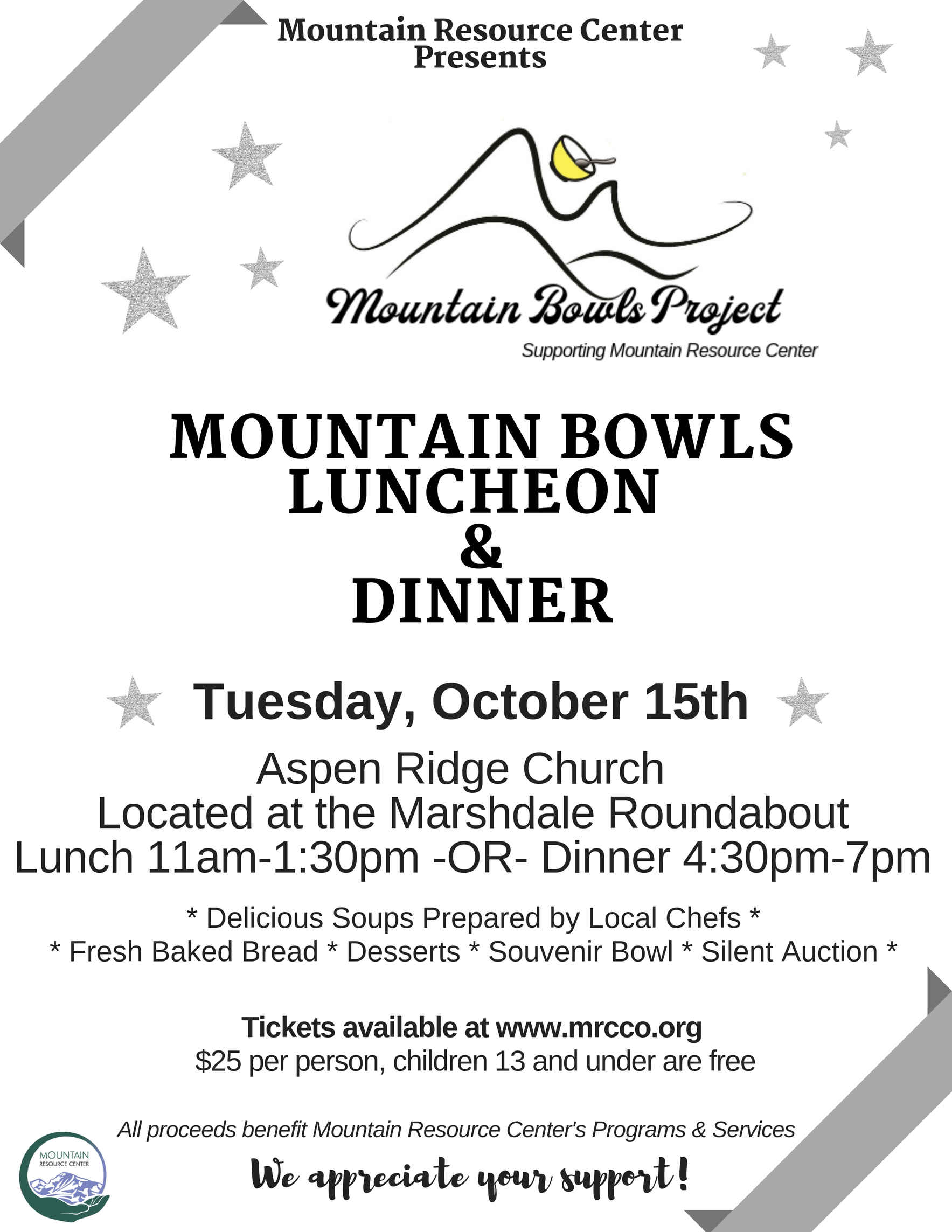 2019 Mountain Bowls Luncheon & Dinner image