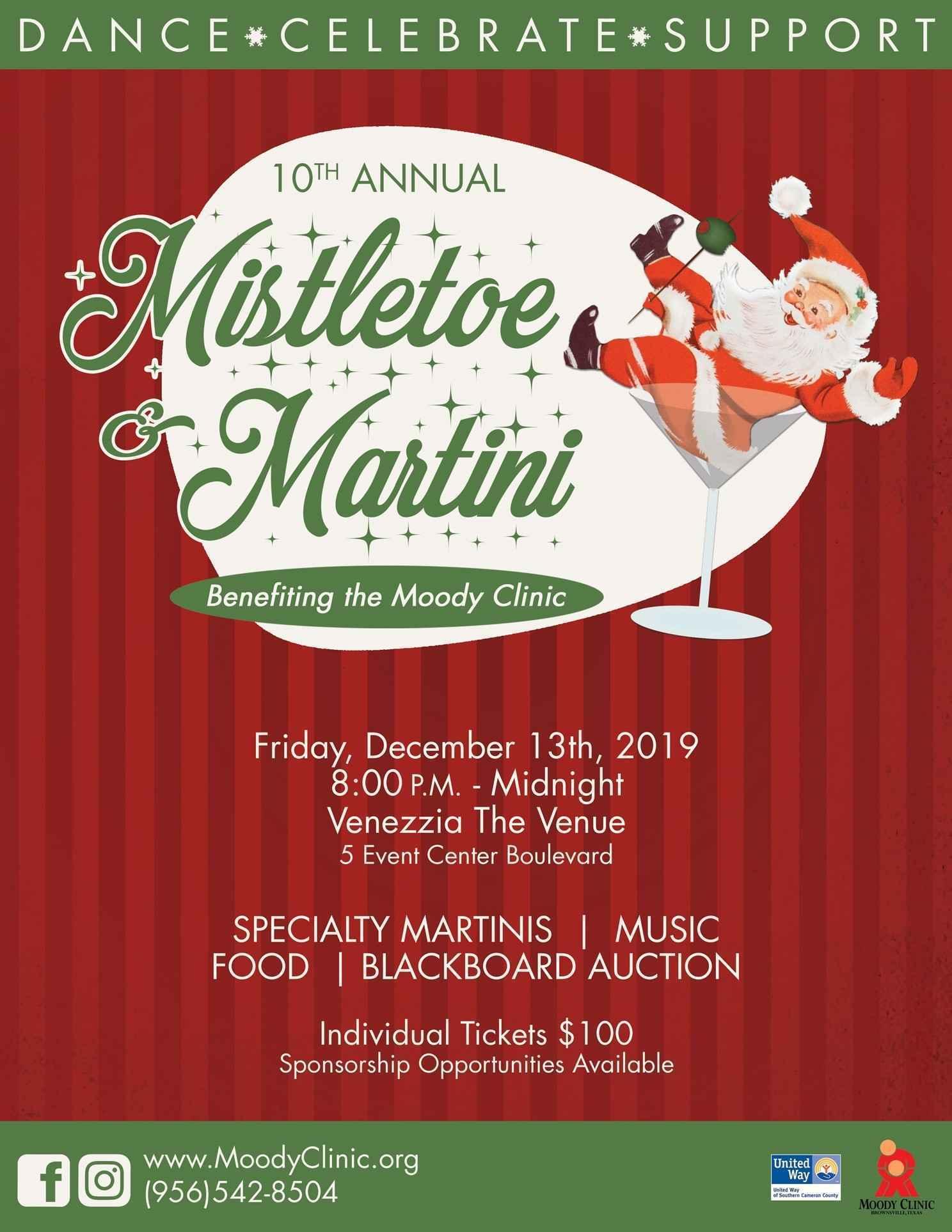 Mistletoe & Martini  image