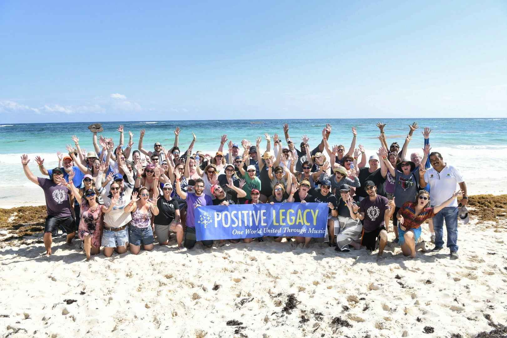 Positive Legacy Day of Service & Sustainable Experience during Wilco's Sky Blue Sky image