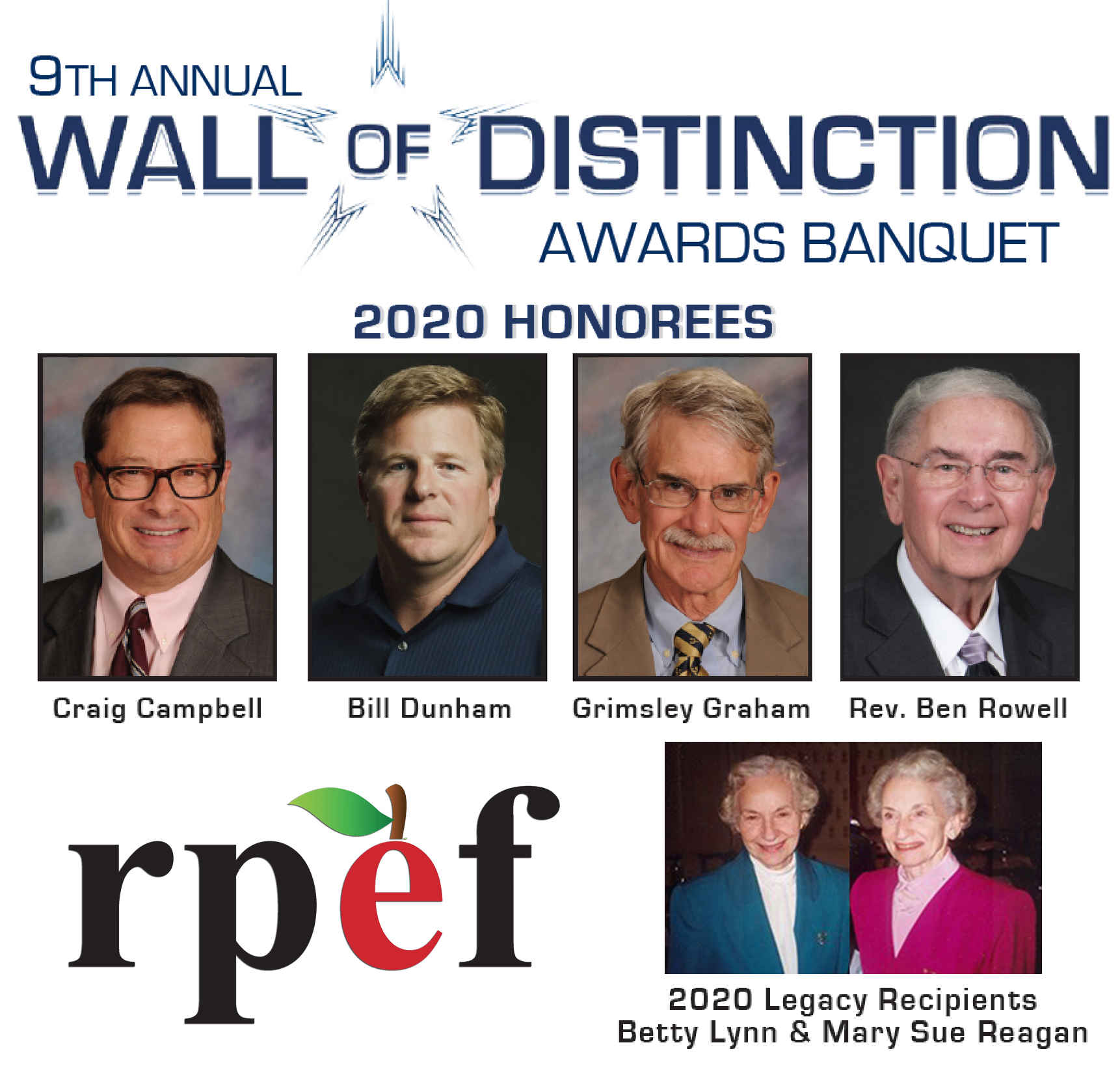 9th Annual Wall of Distinction Banquet  image