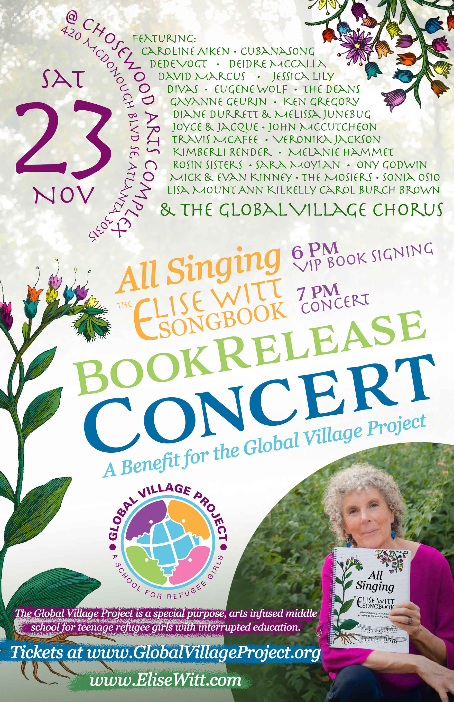 All Singing: The Elise Witt Songbook Release Concert image