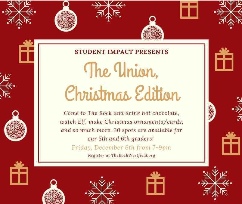 The Union, Christmas Edition image