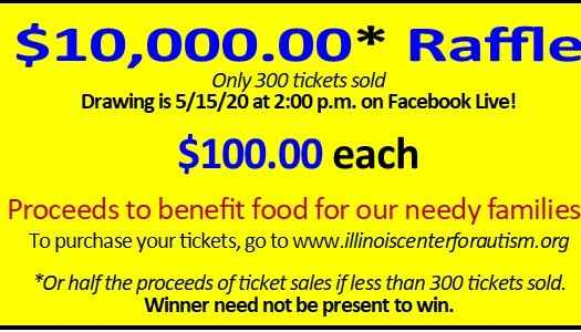 2020 Illinois Center for Autism's $10,000 Raffle image