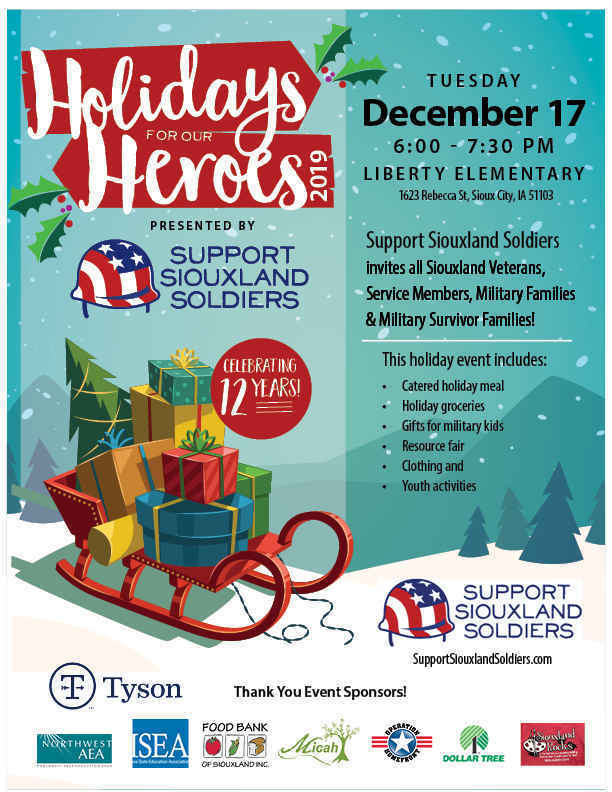 12th Annual Holidays for our Heroes! image