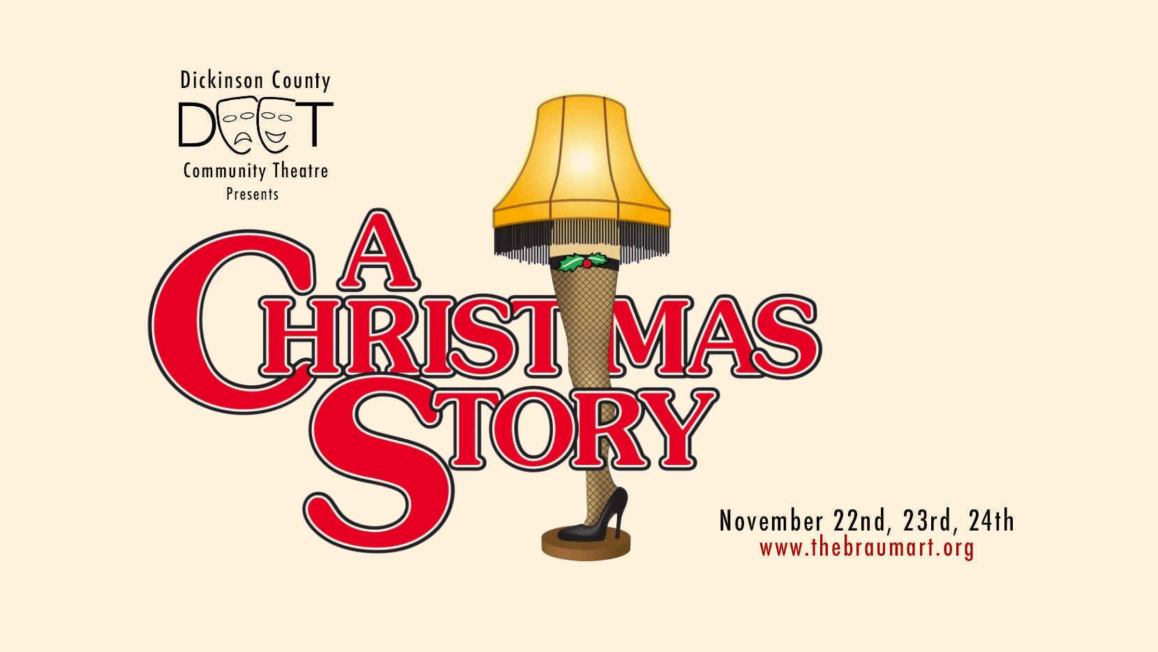 DCCT Presents A Christmas Story (November 22nd Evening) image