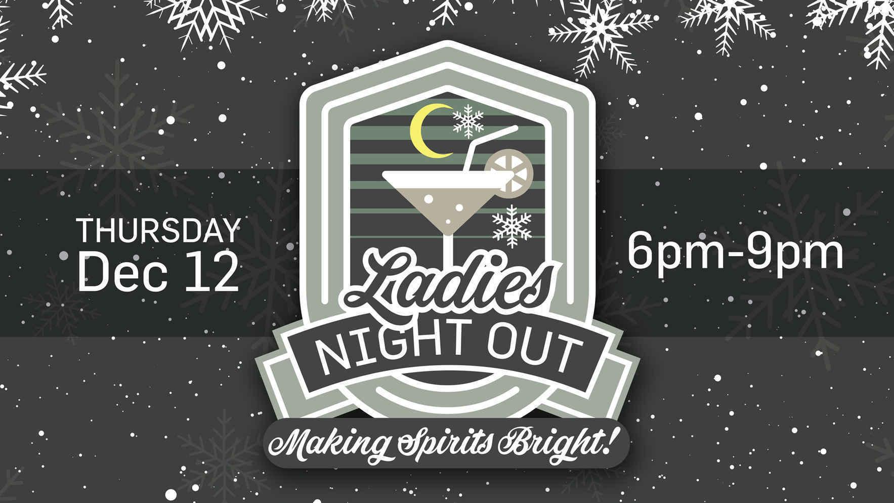 Ladies Night Out - Making Spirits Bright image