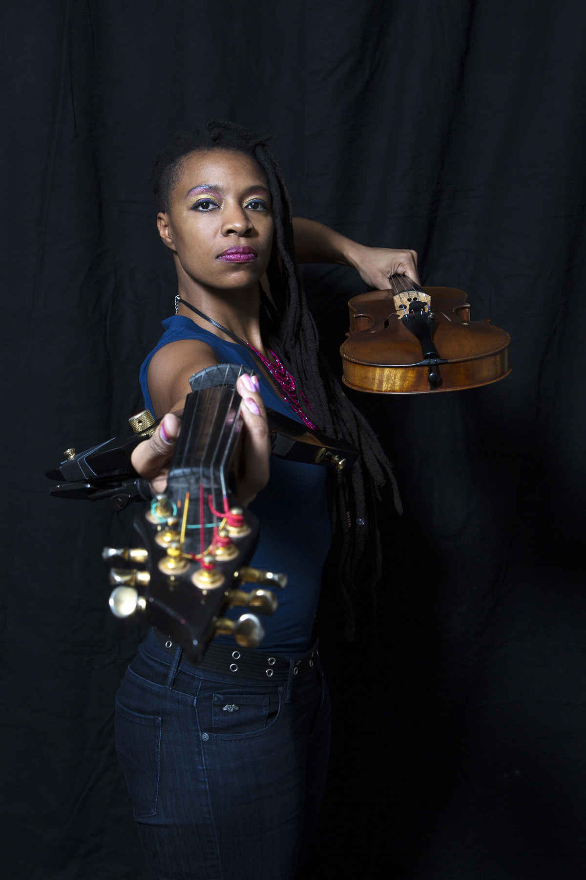 Violinist and Freestyle Composition Artist Mazz Swift  image