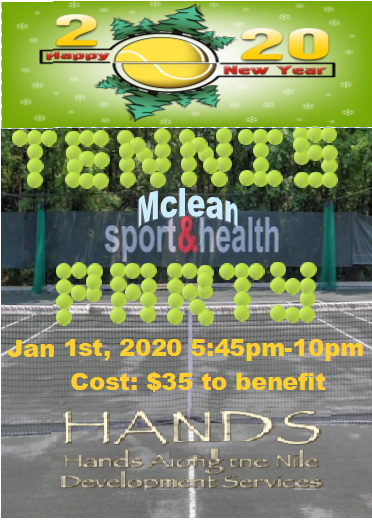 New Year's Day Benefit Tennis Party image