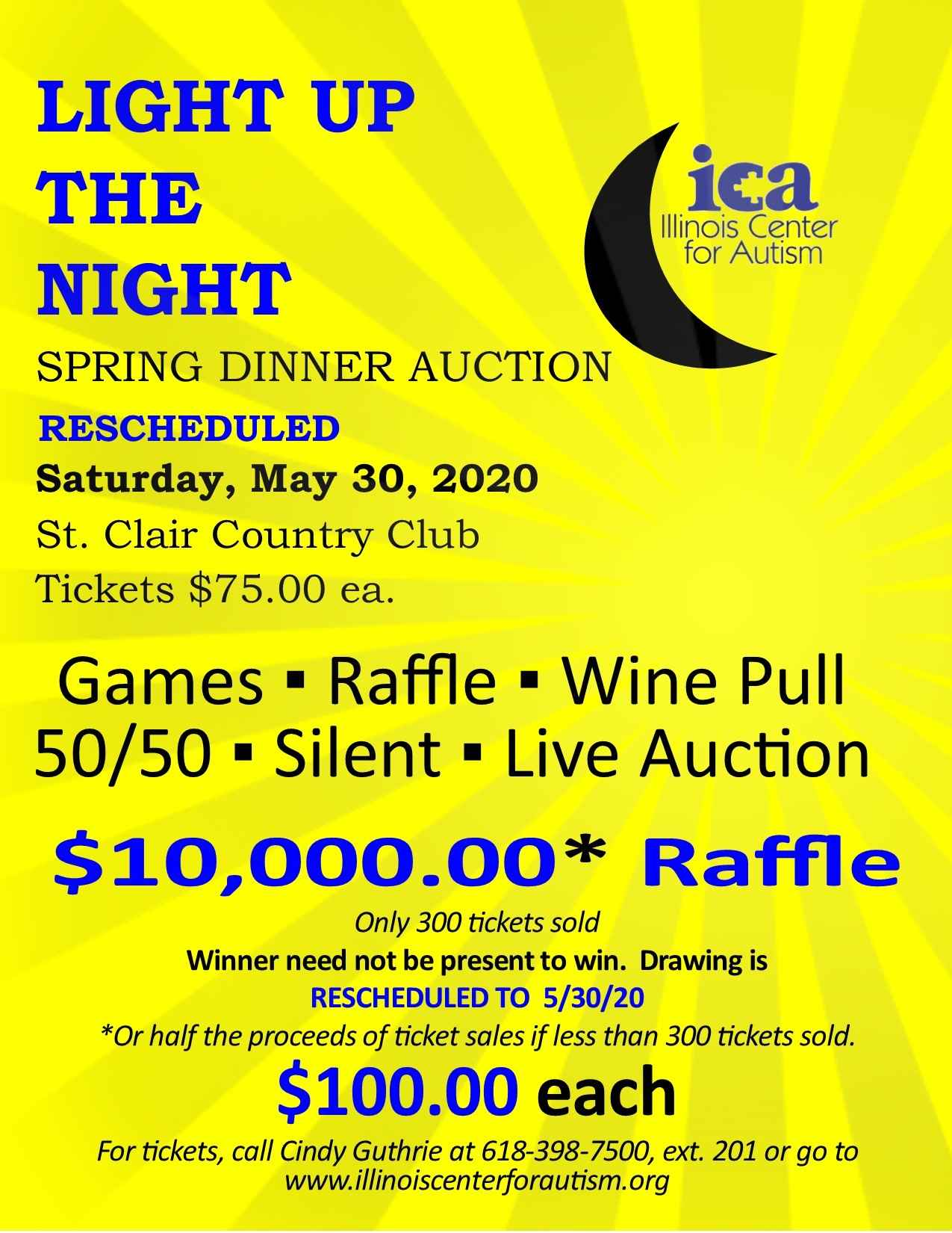 2020 Light Up The Night Spring Dinner Auction image