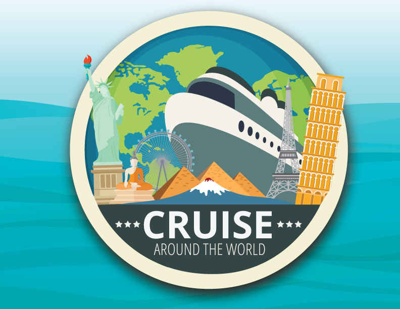 Cruise Around The World- FLA International Food Festival image