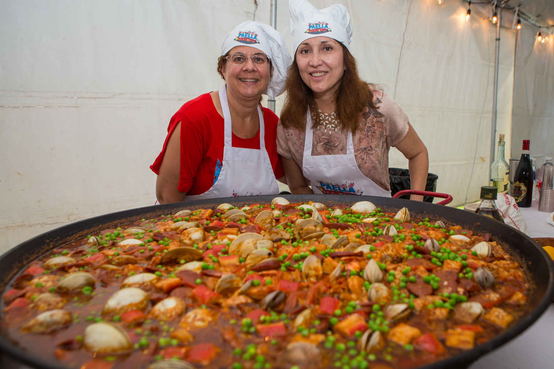 4th Annual Paella Cookoff & Wine Tasting  image