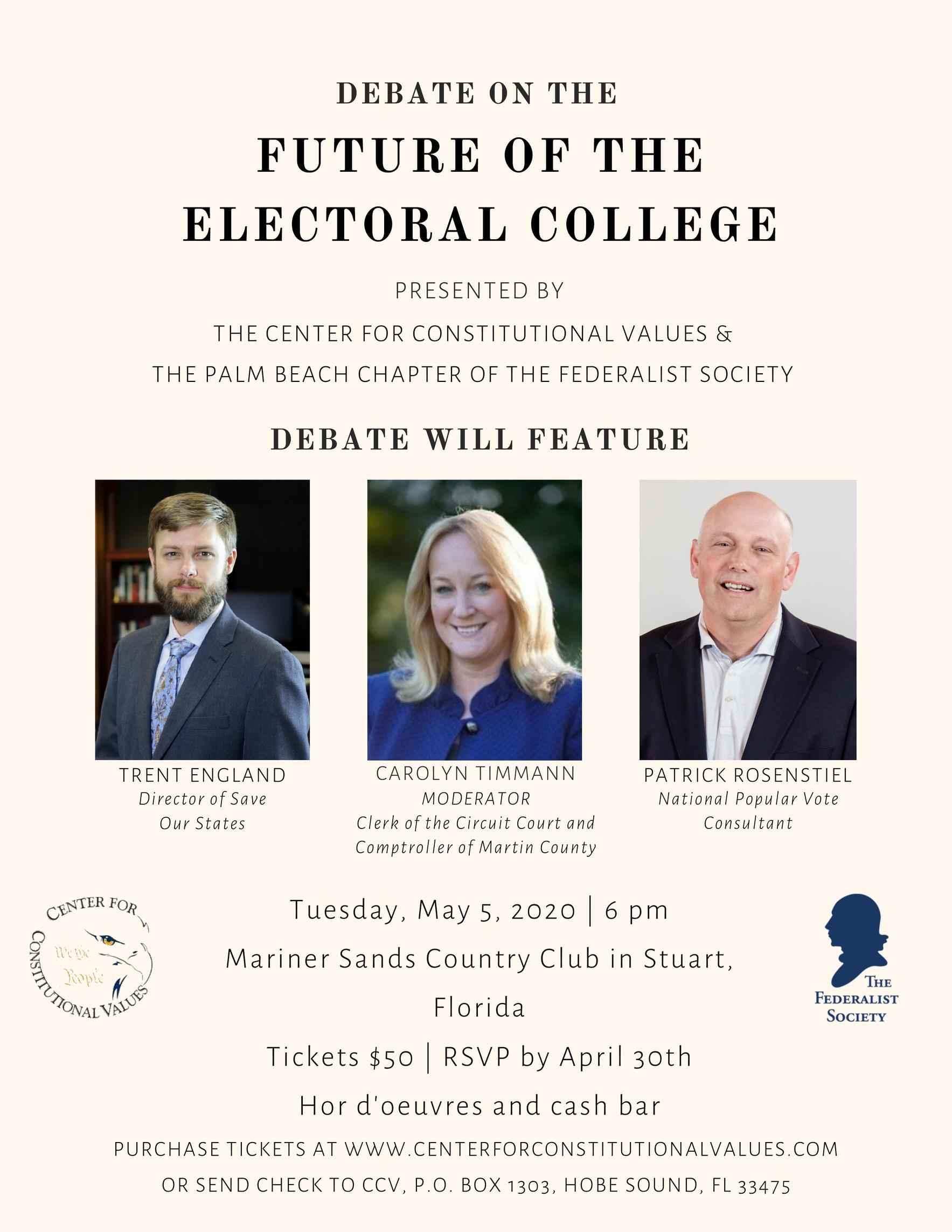 Electoral College Debate image