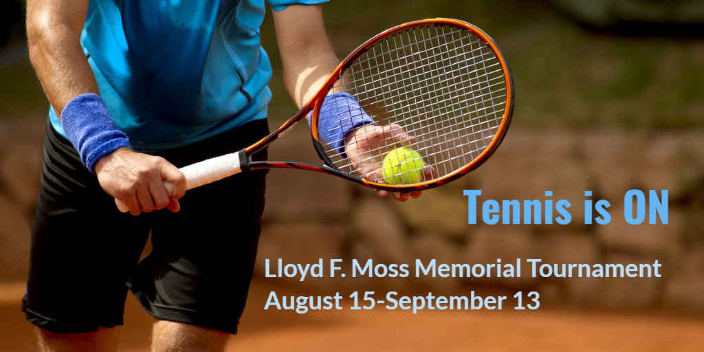 8th Annual Lloyd F. Moss Memorial Tennis Tournament image