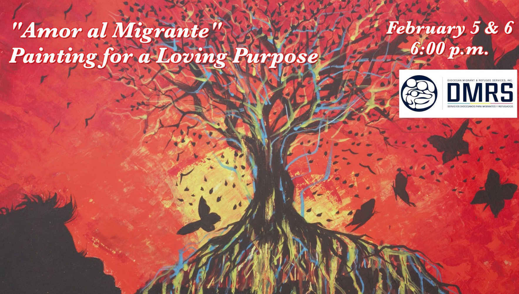 Flash Sale for February 5, 2020: Amor al Migrante: Painting for a Loving Purpose image