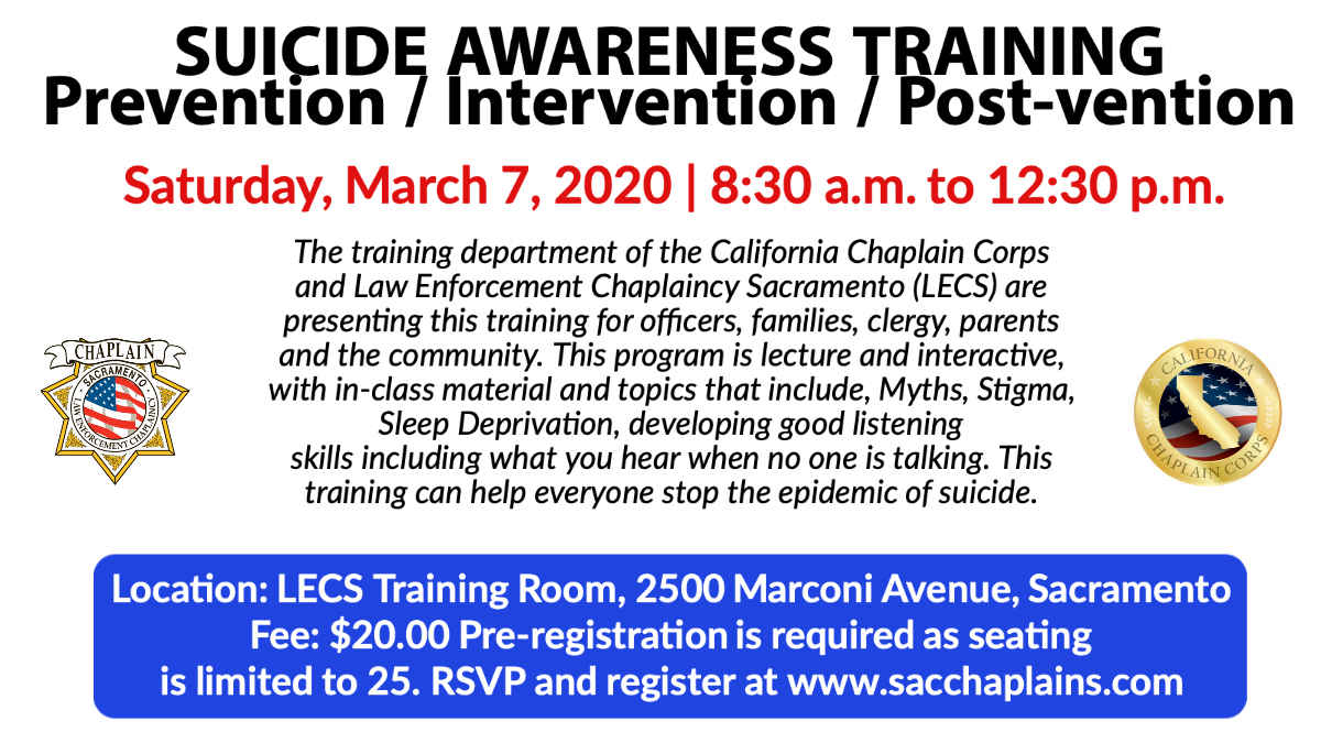 SUICIDE AWARENESS TRAINING image