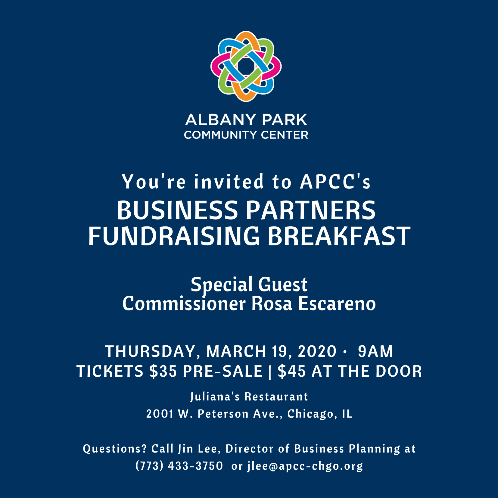 Business Partners Fundraising Breakfast image
