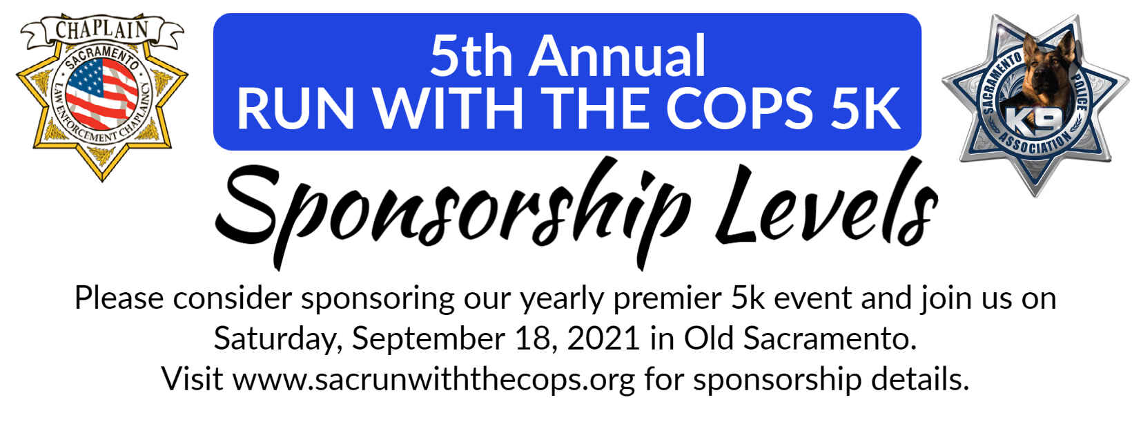 5th Annual Run with the Cops 5k image