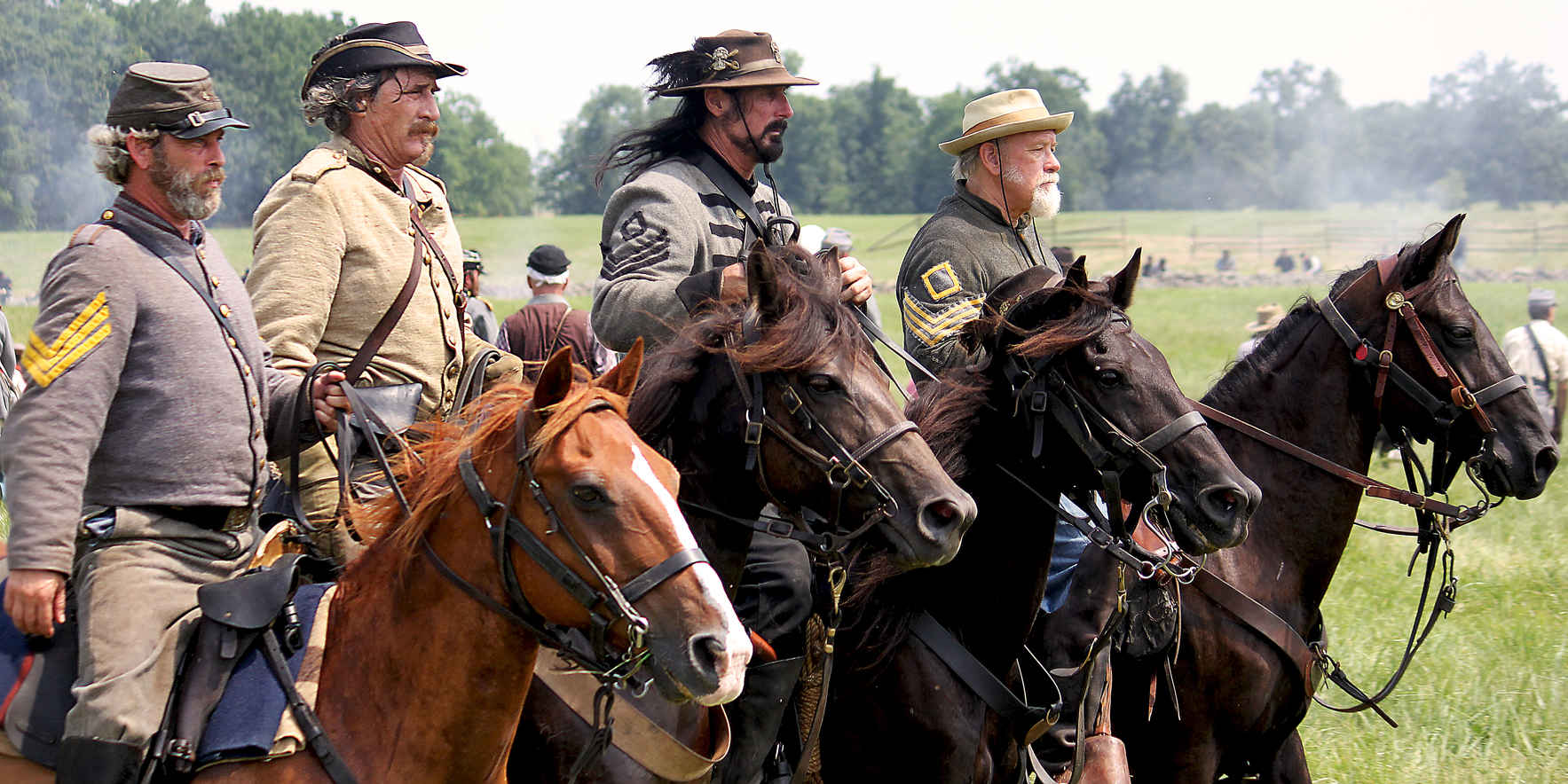 Civil War Cavalry and Living History Event image