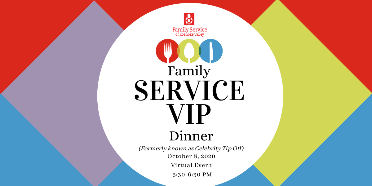 Family SERVICE VIP Dinner 2020 (Virtual Event) image