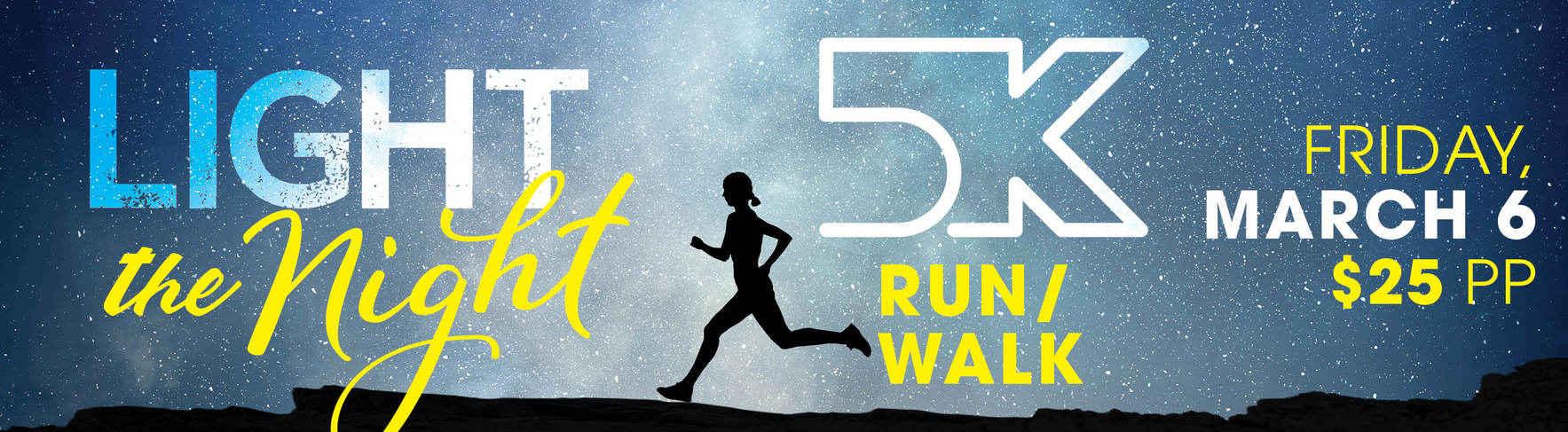 Light the Night 5K Run/Walk image