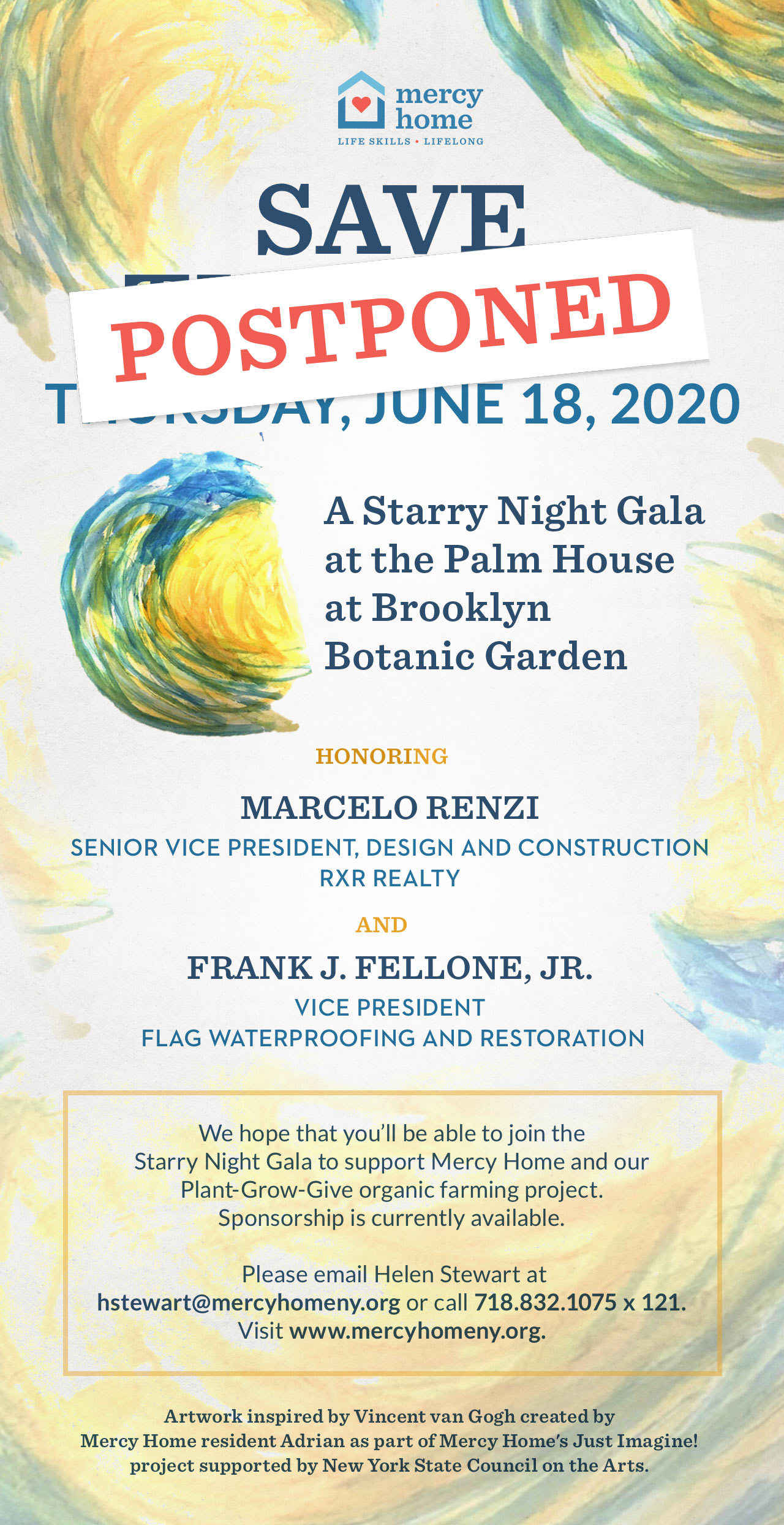 Mercy Home's 2020 Spring Gala - Sponsorship Packages image
