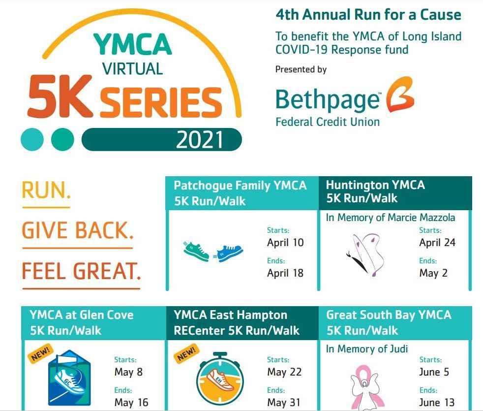 YMCA Virtual 5K Series (Run/Walk) image
