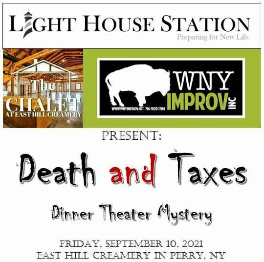 Death and Taxes Murder Mystery Dinner image