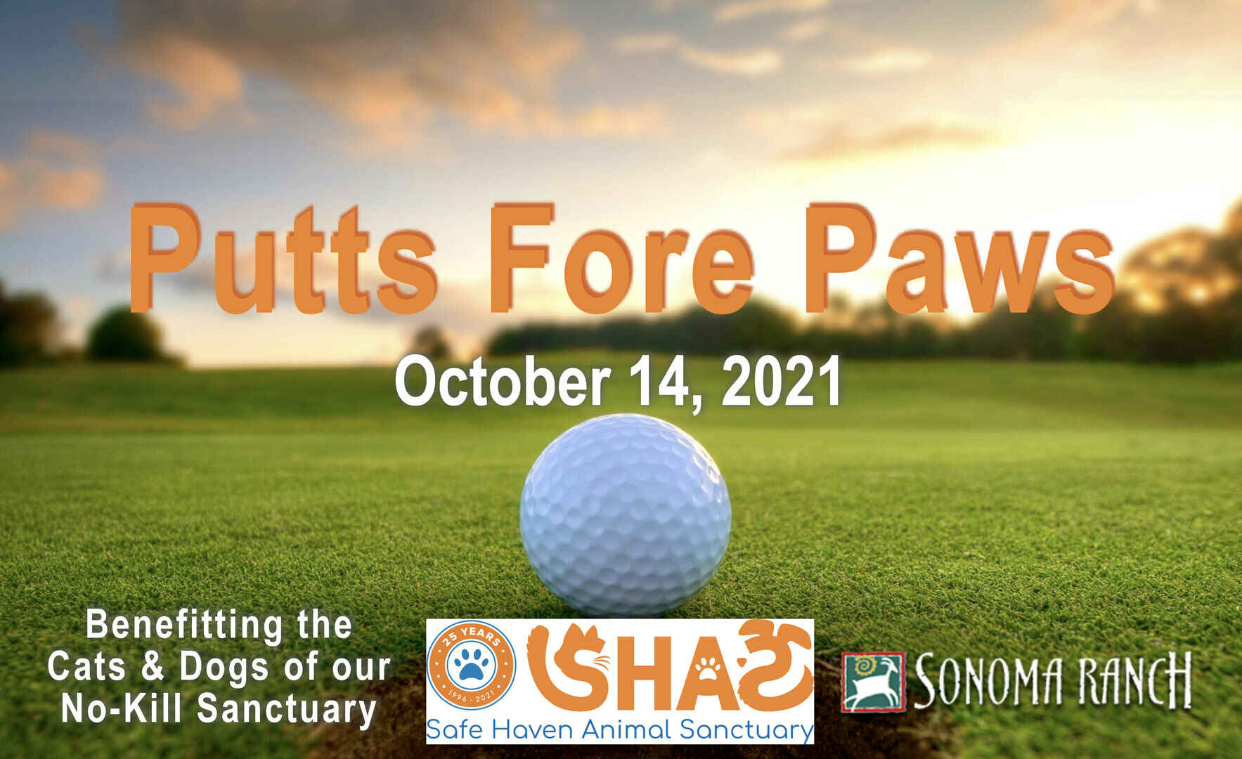 SHAS Putts Fore Paws Charity Golf Tournament image