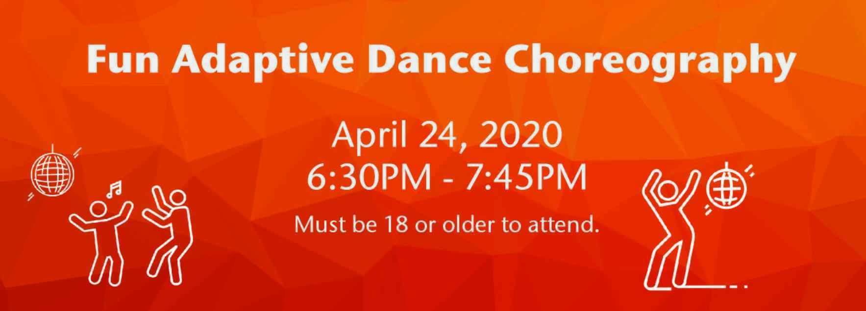 Fun Adaptive Dance Choreography  image