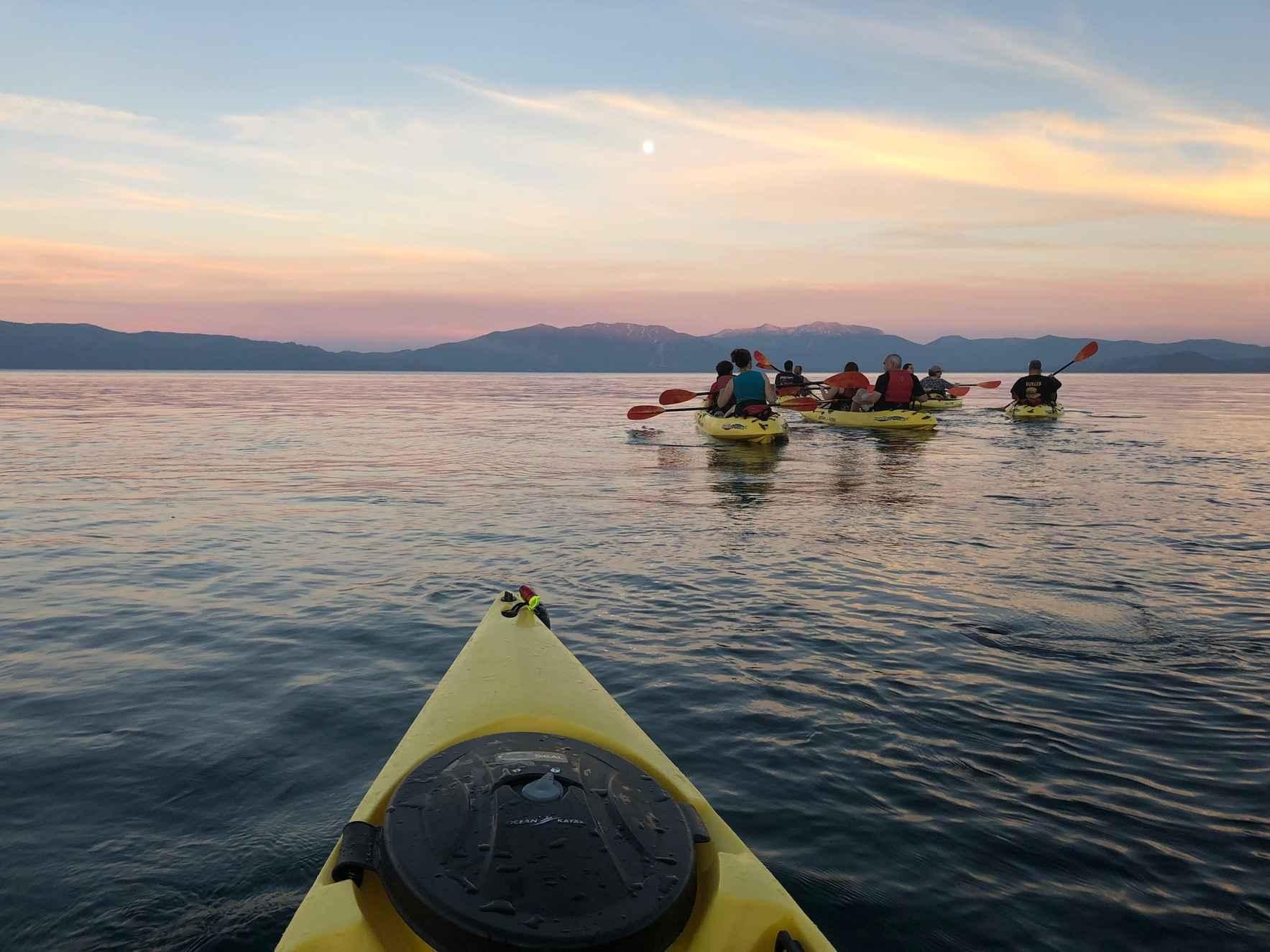 Full Moon Kayak Tour - August 2020 image