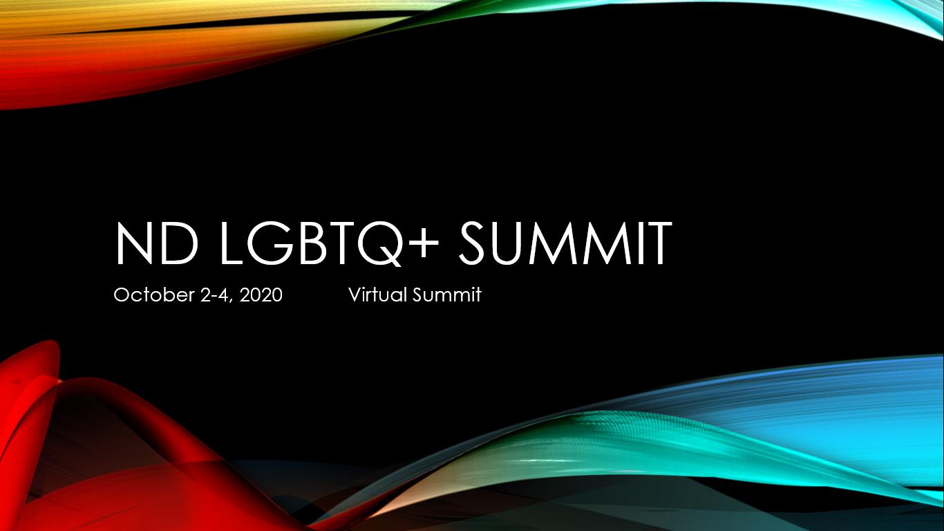 North Dakota 2020 LGBTQ+ SUMMIT  image