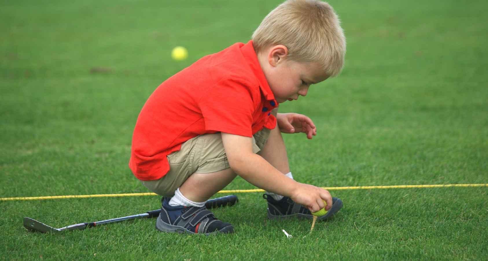 'Drive Out Child Abuse' Golf Scramble image