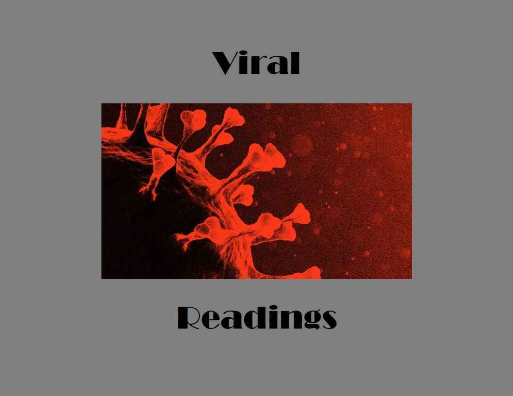 Viral Readings - Episode 4:  Much Ado About Nothing image