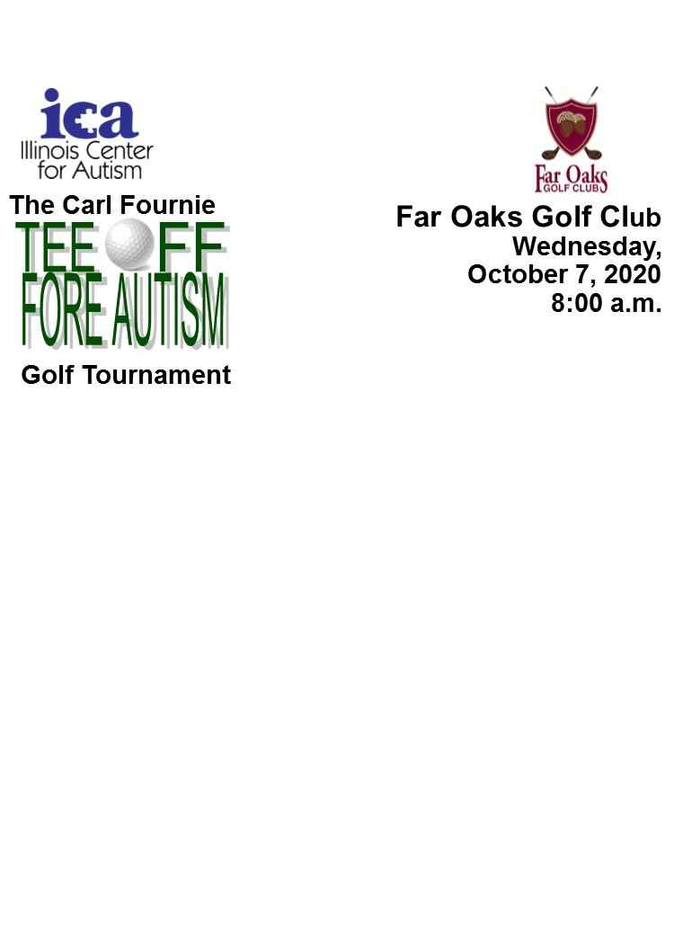 2020 Registration for Carl Fournie Tee Off Fore Autism Golf Tournament image