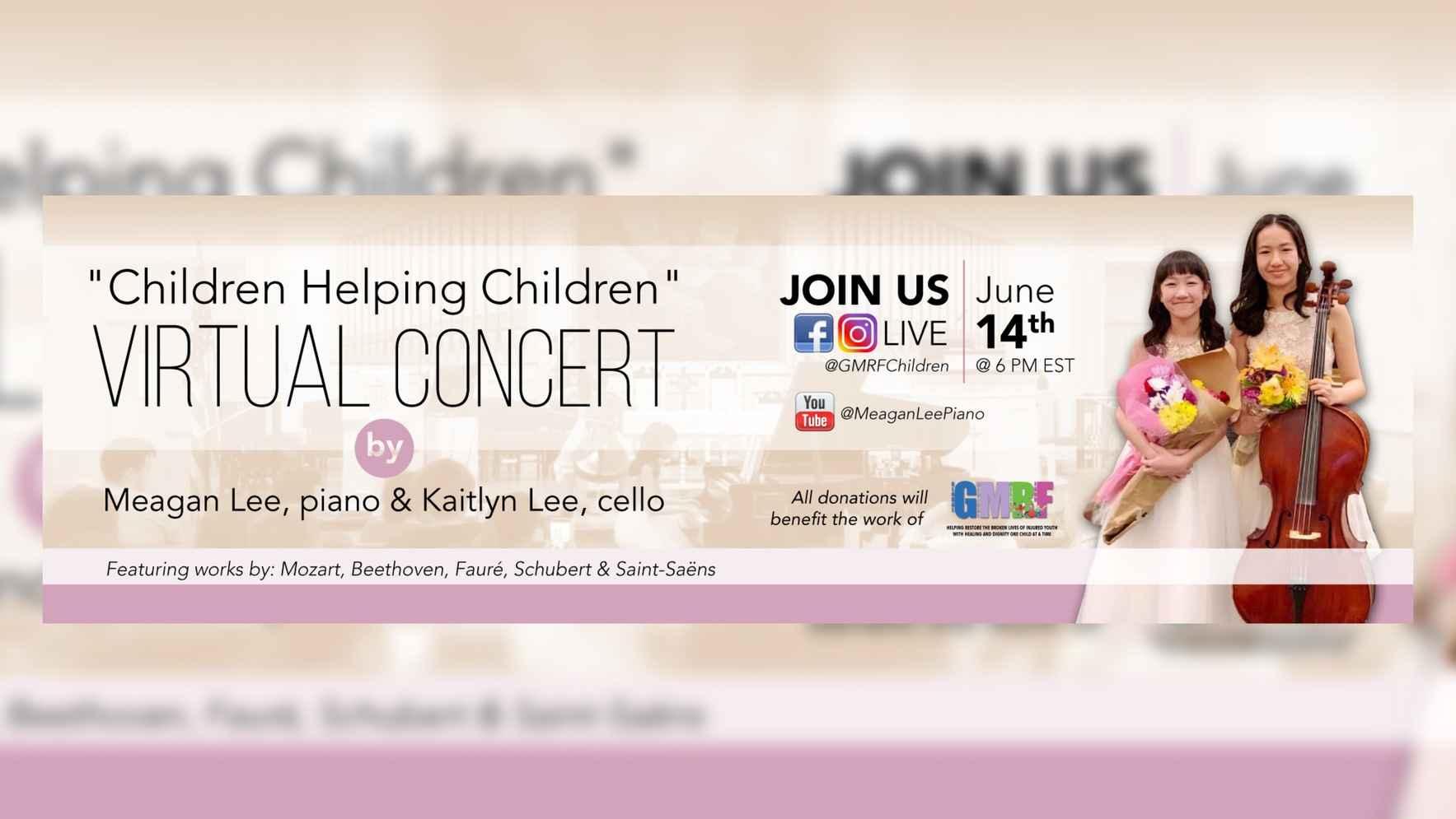 """""""Children Helping Children"""" Virtual Concert image"""