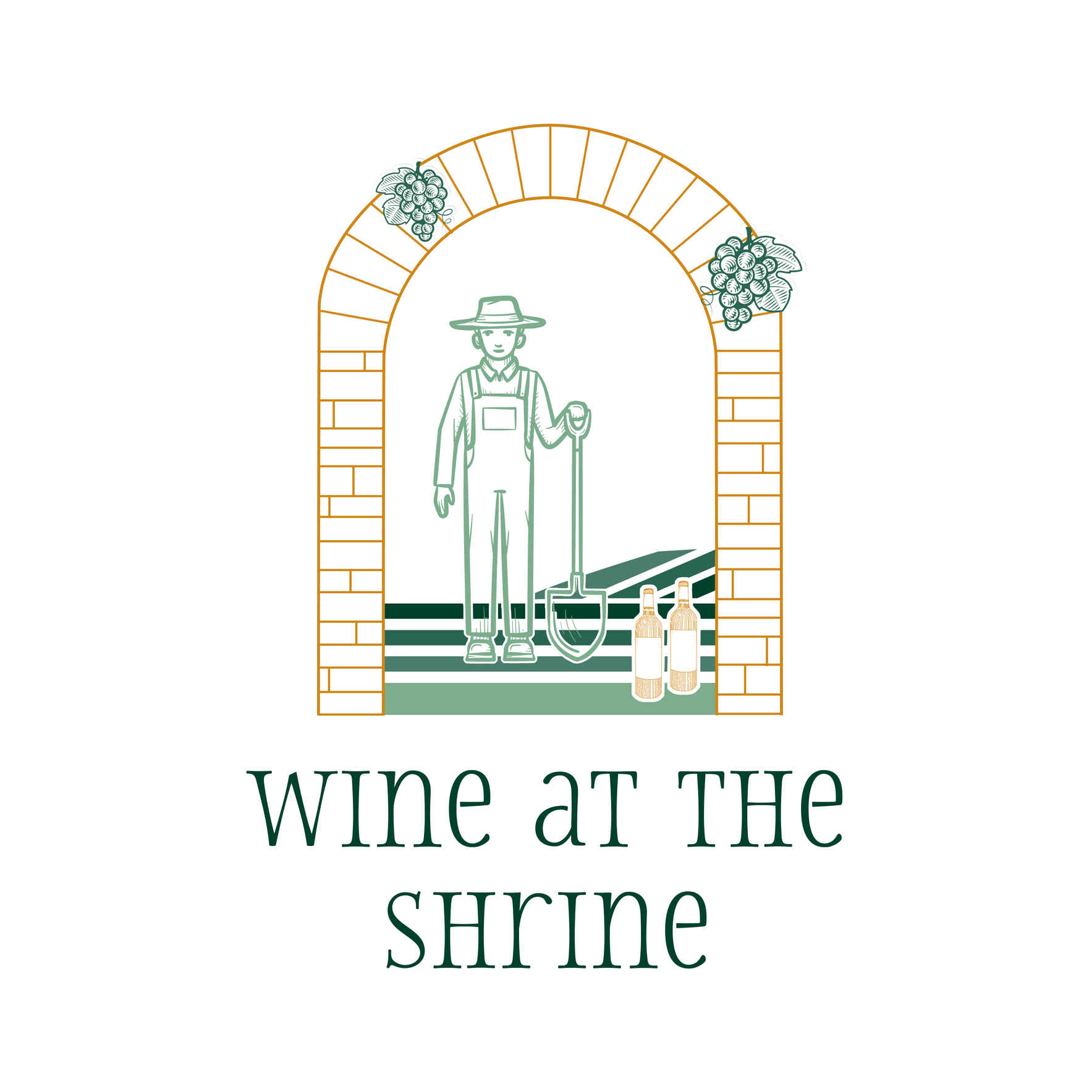 Wine at the Shrine With a COVID 19 Twist ~ A Festival for Little Portion Farm & the Franciscan Center image