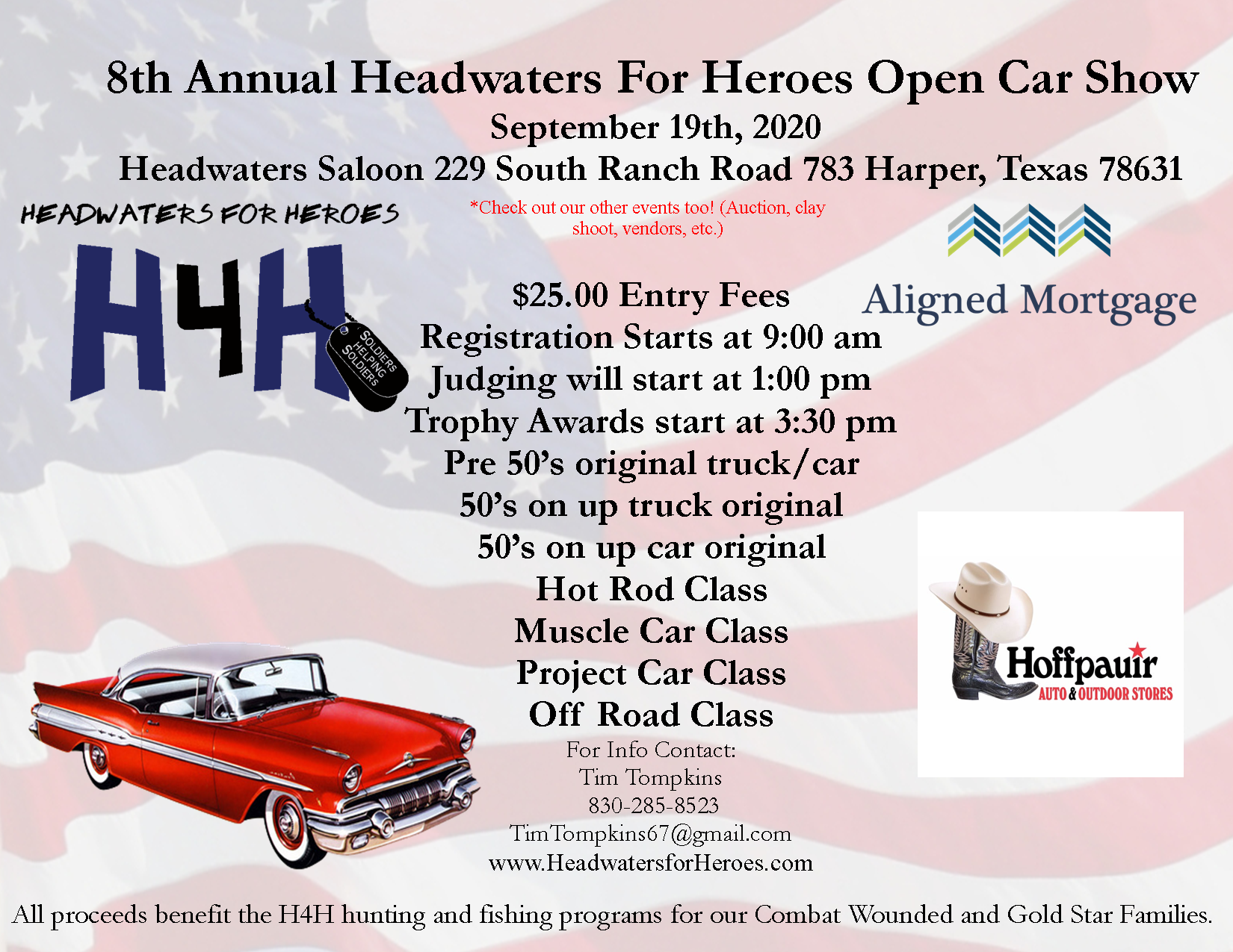 H4H Car Show Registration 2020 image