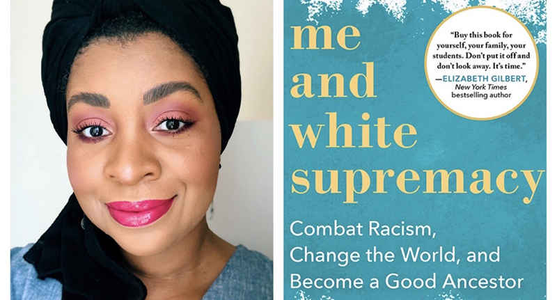 Racial Justice Book Circle - Me and White Supremacy  image