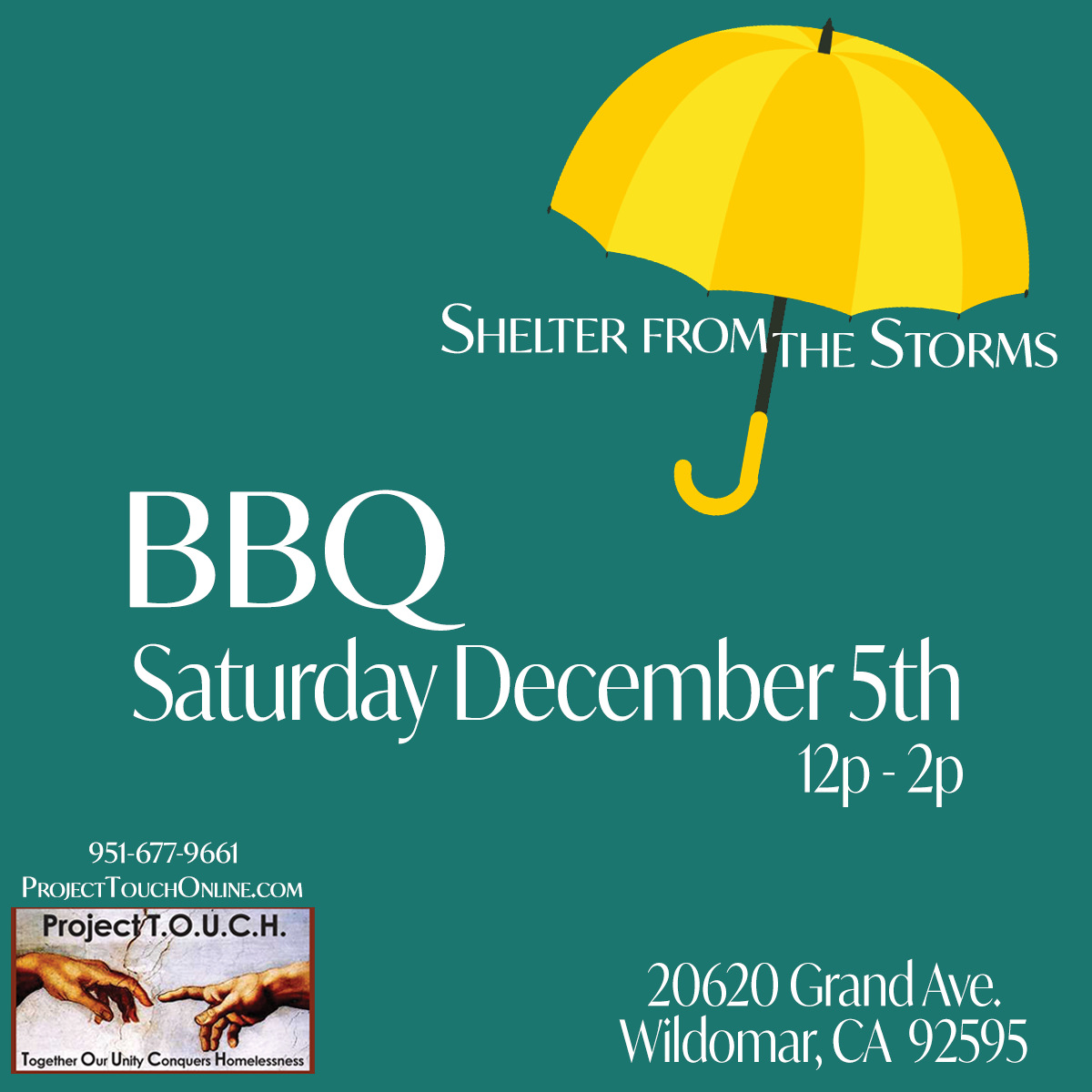 Shelter from the Storms - BBQ image