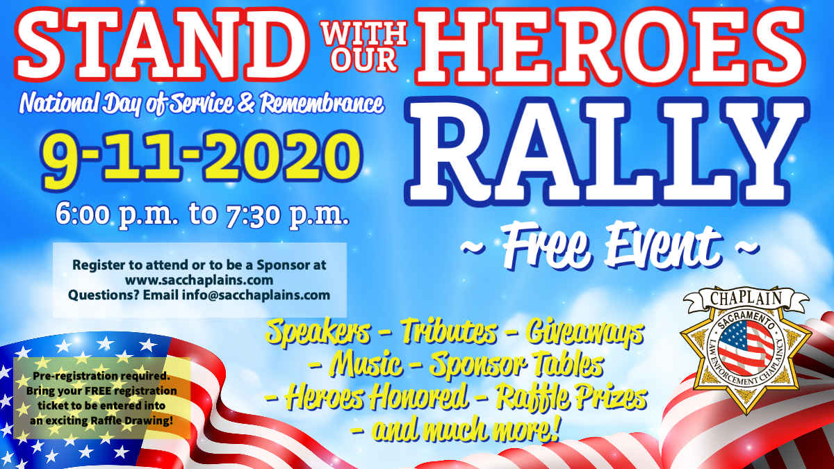 STAND WITH OUR HEROES RALLY ON 9/11 image