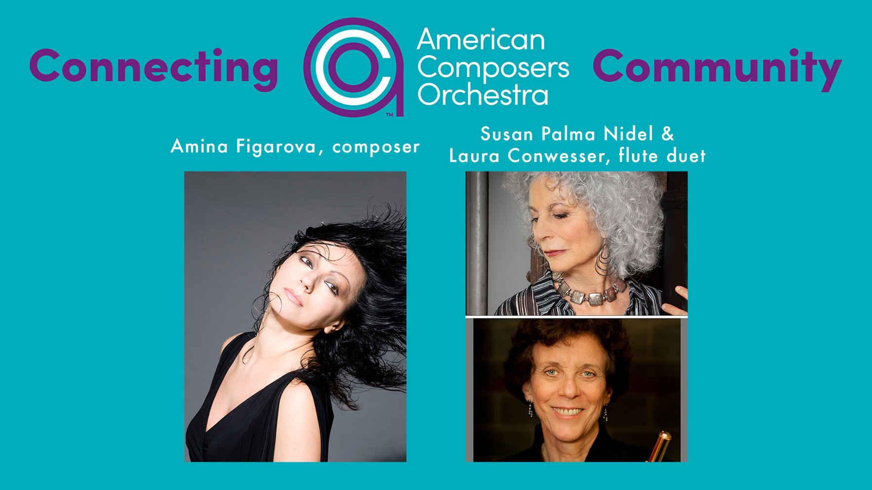 Connecting ACO Community - Amina Figarova, Susan Palma Nidel, & Laura Conwesser image