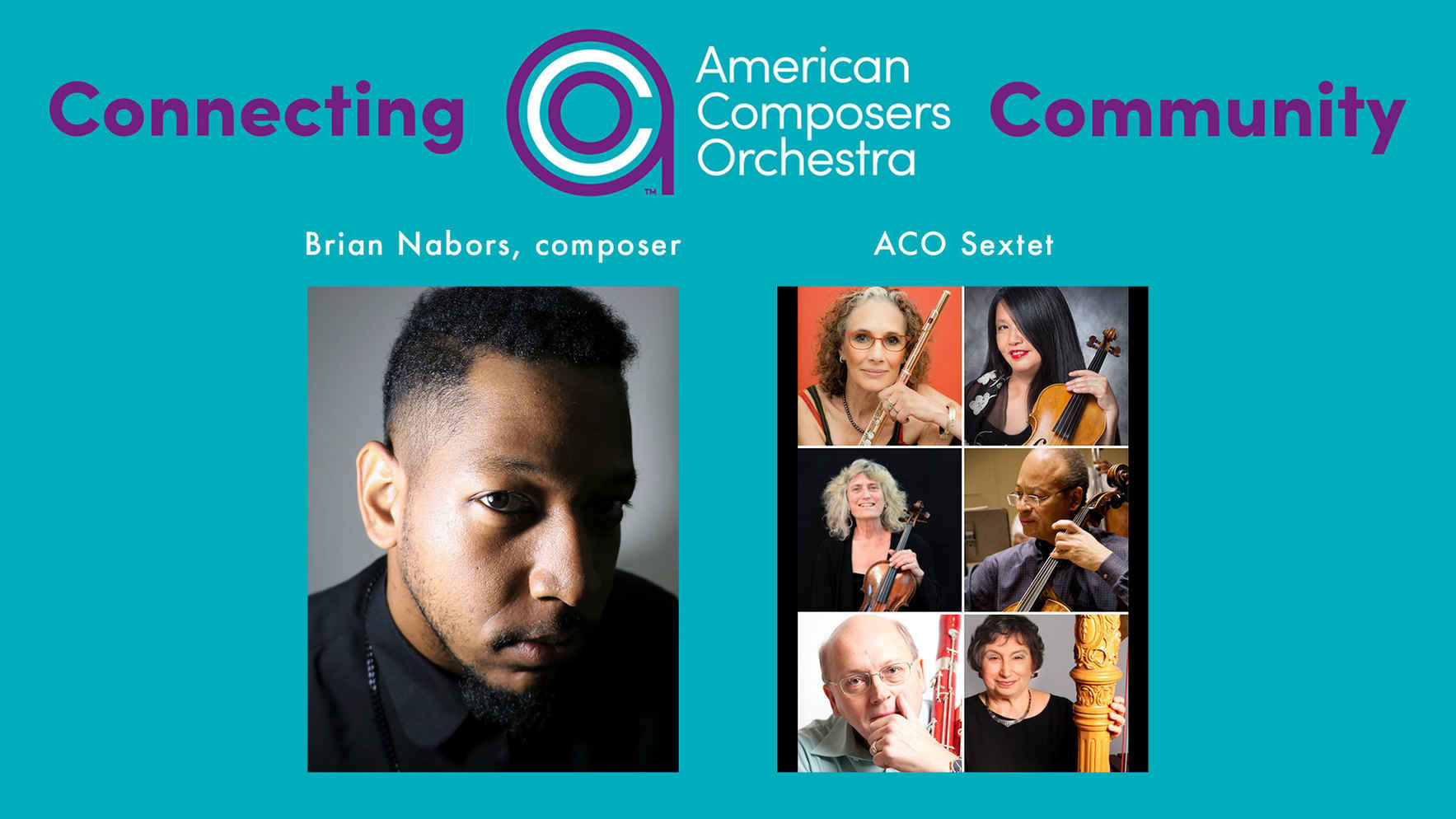 Connecting ACO Community - Brian R. Nabors & ACO Musicians image