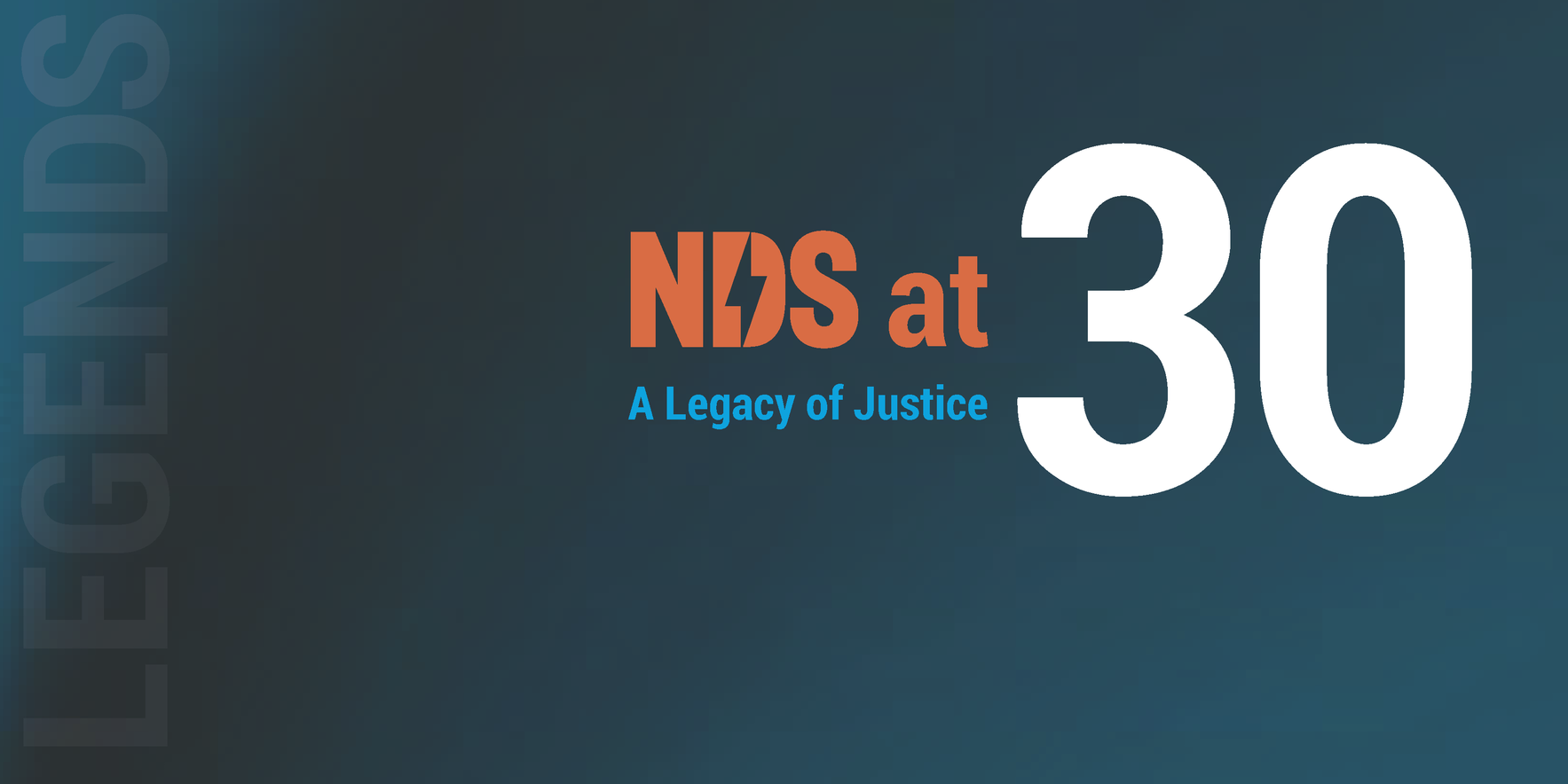 NDS at 30: A Legacy of Justice image