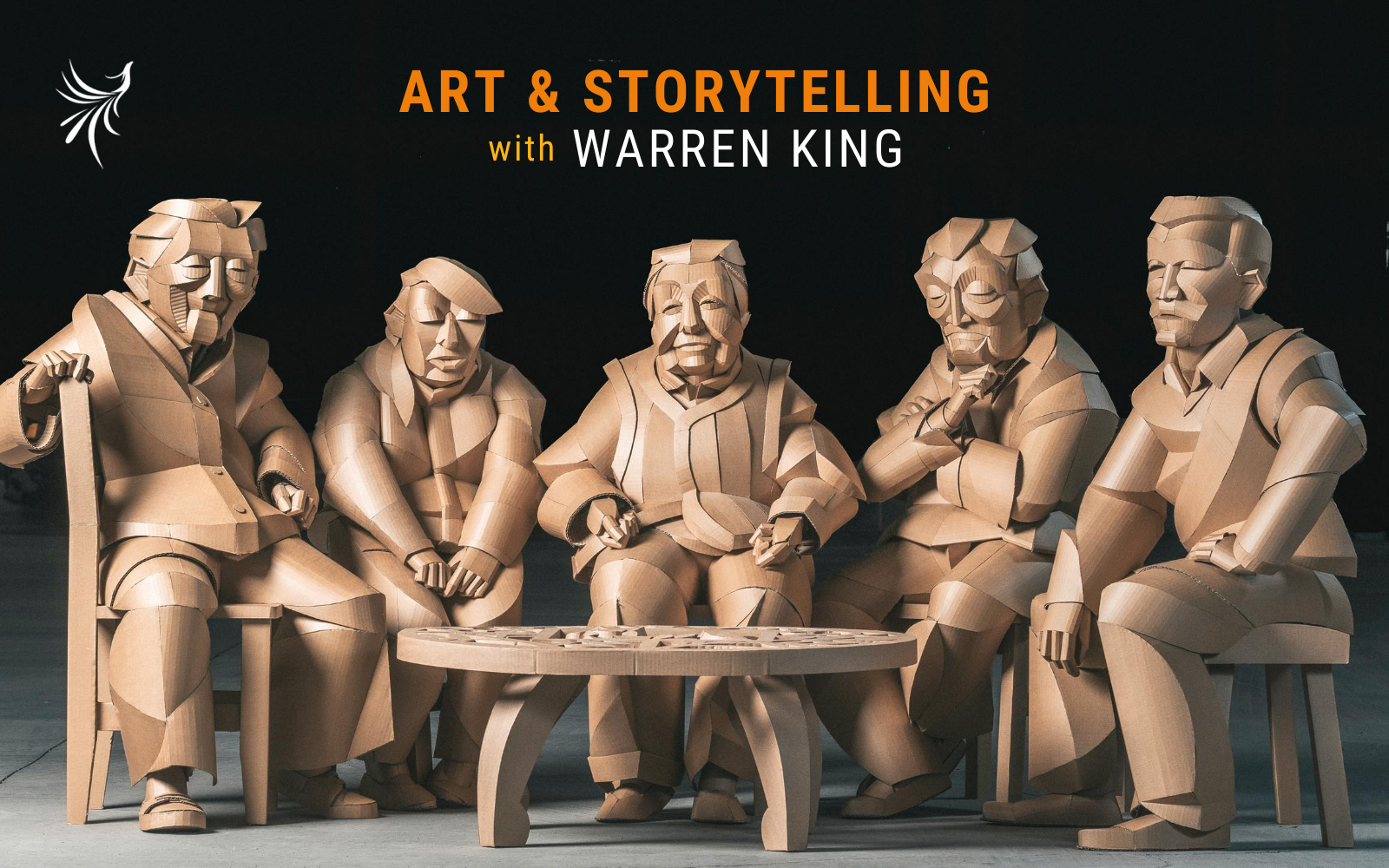 Art & Storytelling with Warren King image