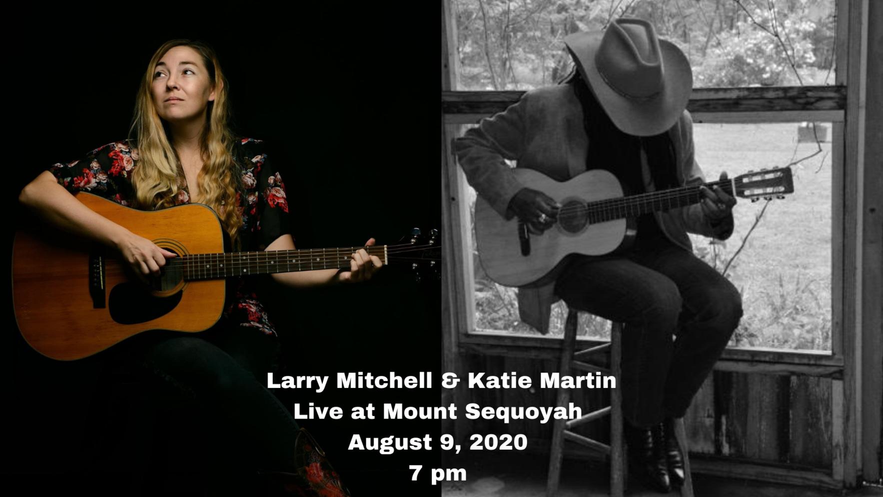 Larry Mitchell & Katie Martin: Live at Mount Sequoyah  image